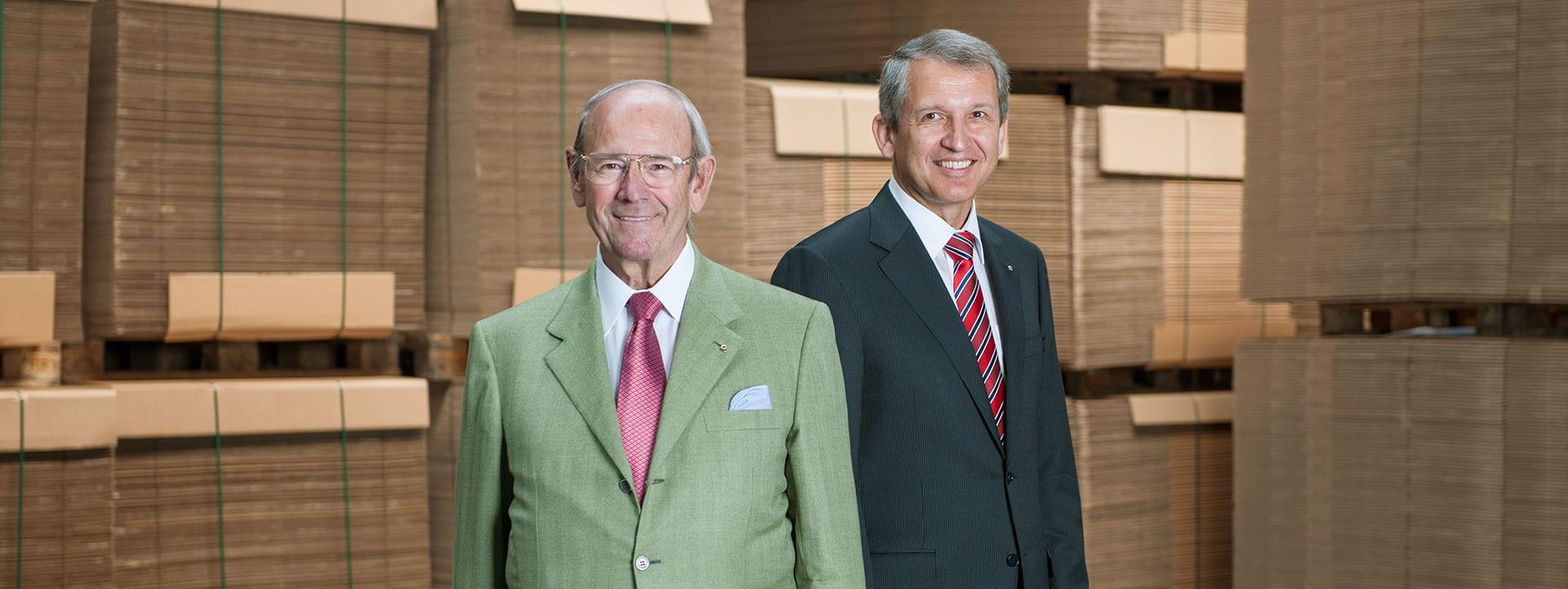 Alwin J. Kolb and Dr.-Ing. Bernhard Ruffing